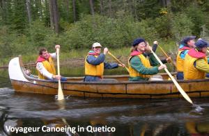 Voyageur Canoeing