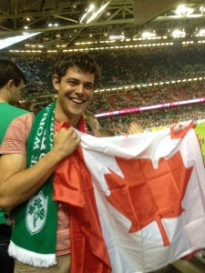 Canada vs. Ireland - World Cup Rugby in Cardiff