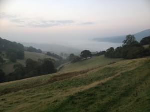 Overlooking Llandovery