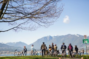 Cycle City Tours Burrard Inlet