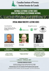 E-Lecture Poster Urban Forestry Special Series