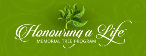 honouring a life logo