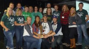 2013 Quiz Bowl Champions from the University of Alberta!