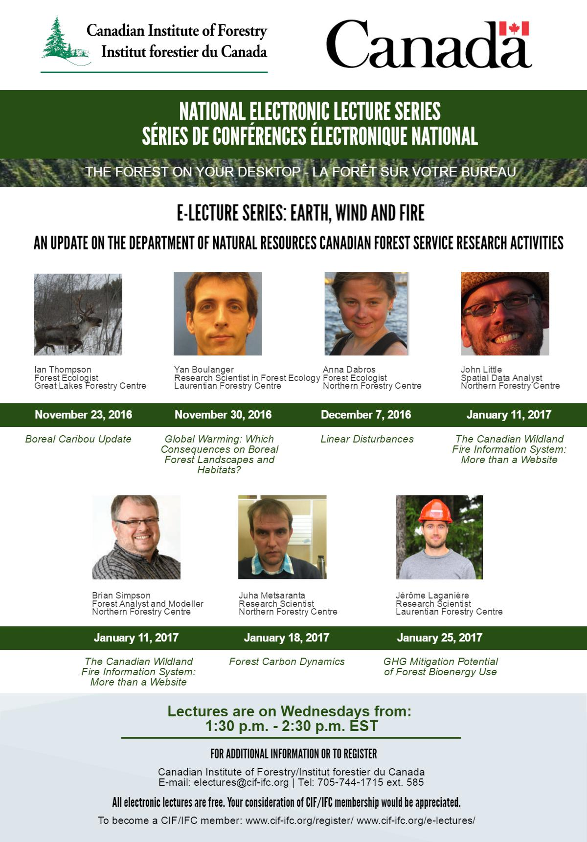 CIF-IFC E-Lecture: Forest Carbon Dynamics | Forestry