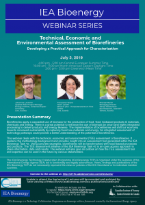 IEA Bioenergy Poster July 3_2019 Biorefineries