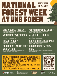 UNB Forestry and Environmental Management_NFW events